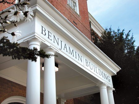 Front of Benjamin Building