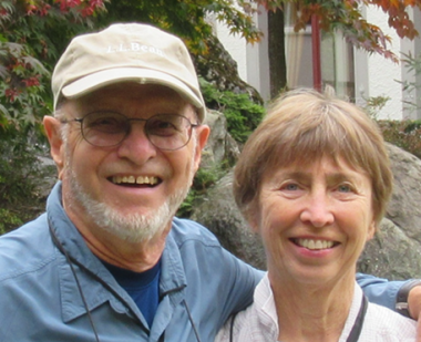 Herb and Libby Ware from their feature in the spring 2017 World of Learning newsletter.