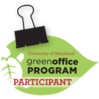Green Office Leaf Logo - Participant