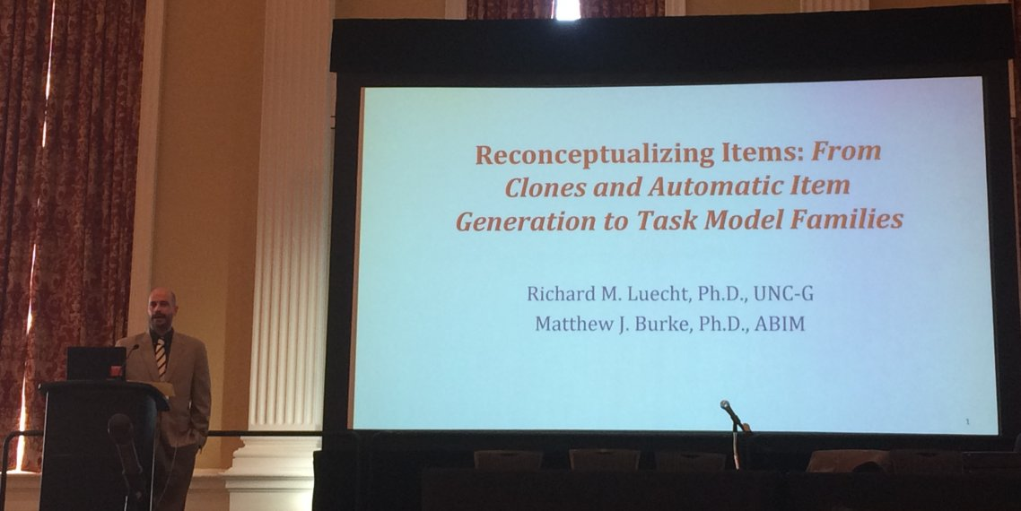 matthew burke presenting at 2017 MARC Conference