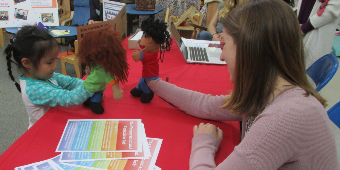 Playing with Puppets at the CYC Meet and Greet