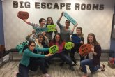 Silly Picture at the Escape Room