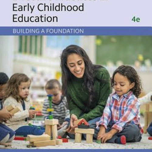 Effective Practices in Early Childhood Education: Building a Foundation book cover