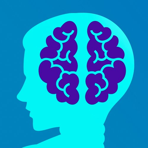 Illustration of child's head and brain silhouette
