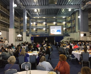 Image of inside conference hall